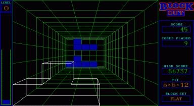 תמונה מתוך המשחק Blockout