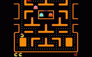 תמונה מתוך המשחק Ms. Pac Pc