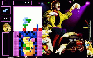 תמונה מתוך המשחק Super Tetris